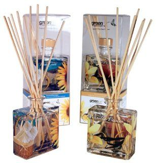 Greenair All Natural  Reed Diffuser Set of 2, Fresh Linen and Vanilla, 5.6 Ounce Health & Personal Care