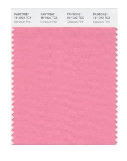 PANTONE SMART 15 1922X Color Swatch Card, Geranium Pink   House Paint