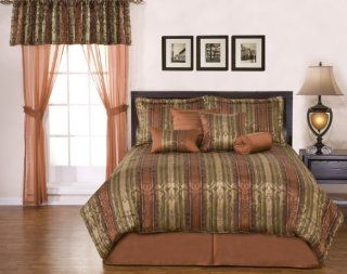 Phoenix Home Fashion, Inc. Venus Queen 8 Piece Comforter Set