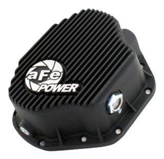 aFe 46 70031 Bladerunner Black Finish Dana 80 Differential Cover for Dodge Diesel Trucks L6 5.9L Automotive