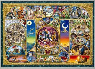 1000 piece Disney World character [world's smallest jigsaw] DW 1000 260 Toys & Games