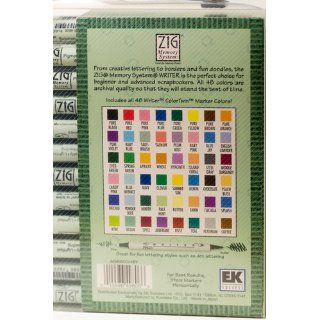EK Success Writer Dual Tip Scrapbooking Marker Set, 48 Pack: