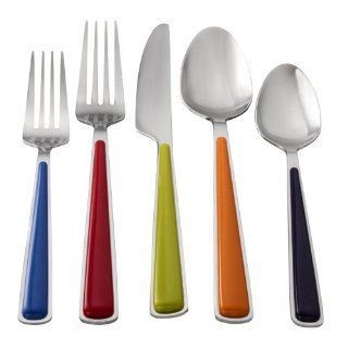 Fiesta 20 Piece Merengue Flatware Set Kitchen & Dining