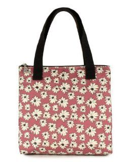 Koko Insulated Lunch Bag   Heather Dusty Pink Floral Cosmoda #KO777PMF Reusable Lunch Bags Kitchen & Dining