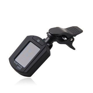 ENO Et33 LCD Clip on Chromatic Guitar Tuner for Digital Chromatic Bass Violin Musical Instruments