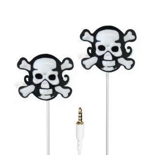 VIBE SOUND VS 802 SKULL Molded Skull Earbuds Electronics
