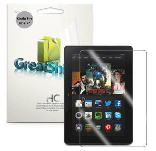 """GreatShield MERE Mark II Ultra Clear (HD) Smooth Screen Protector for  Kindle Fire HDX 7"""" Inch (2013 Release) Tablet (3 Pack)   LIFETIME WARRANTY: Electronics"""