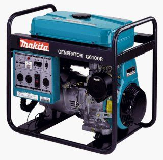 Makita G6100R 5,800 Watt 11 HP Portable Power Generator (Discontinued by Manufacturer) Patio, Lawn & Garden