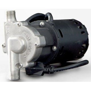 Chugger Stainless Steel Brewing Pump Inline Head (Comparable To March 809 PL HS) Kitchen & Dining