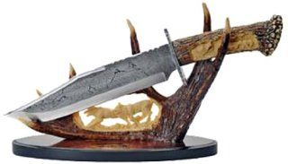 Szco Supplies Wolf Antler Display Knife : Hunting Fixed Blade Knives : Sports & Outdoors