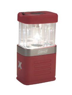 Coleman Exponent 4AA Pack Away Lantern, Red  Camping Lanterns  Sports & Outdoors