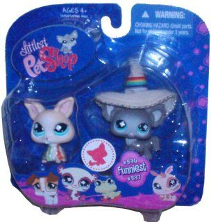 Littlest Pet Shop Chihuahuas 836 837: Toys & Games