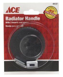 "Plumb PAK AH840 33 N ""Ace"" Round Radiator Handle   Plastic (Pack of 5)   Heaters"
