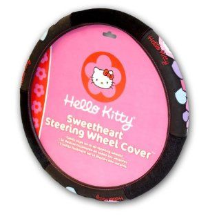 Officially Licensed Hello Kitty Steering Wheel Cover Automotive