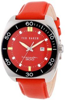 Ted Baker Men's TE1100 Sport Red Dial and Strap Round Analog Watch at  Men's Watch store.