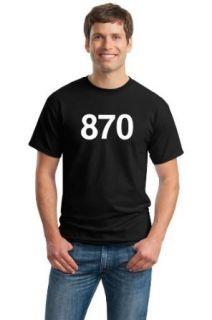 870 AREA CODE Adult Unisex T shirt / Jonesboro, West Memphis: Clothing