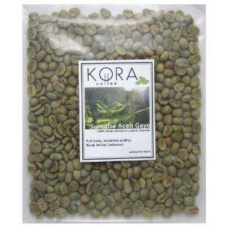 100% Pure Authentic Sumatra Aceh Gayo Arabica Kopi Luwak Civet Unroasted Green Coffee Bean 4 Oz  Unroasted Civit Coffee  Grocery & Gourmet Food