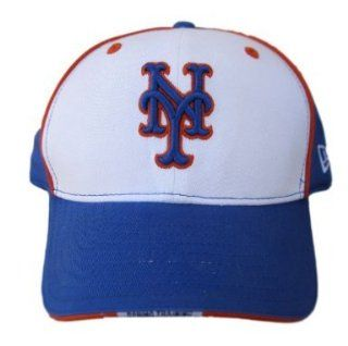MLB New York Mets New Era Spring Training Velcro Strap Hat Cap   Royal/White  Sports Fan Baseball Caps  Sports & Outdoors