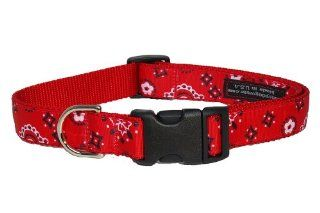 Sassy Dog Wear 18 28 Inch Red Bandana Dog Collar, Large : Pet Collars : Pet Supplies