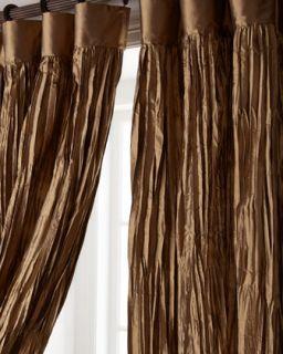 Each 54W x 108L Crushed Silk Curtain   Dian Austin Couture Home