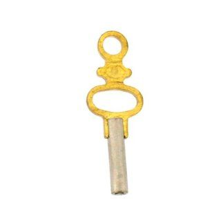Table Clock Key Pocket Watch Key 1.00 mm Square Brass #11: Watches