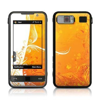 Orange Crush Design Protective Skin Decal Sticker for Samsung Omnia SCH i910 Cell Phone: Electronics