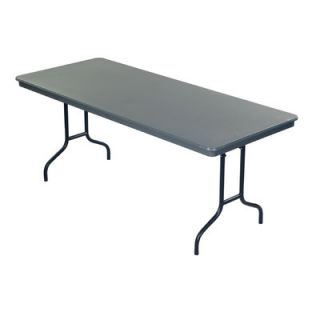 AmTab Manufacturing Corporation Rectangular Folding Table AMTB1070 Size: 29