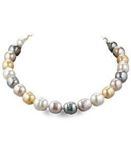 Multi Pearl Necklace   Majorica
