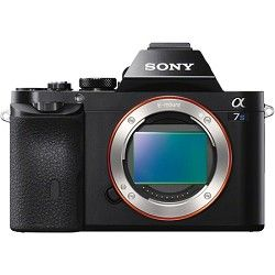 Sony ILCE 7S/B a7S Full Frame Mirrorless Camera