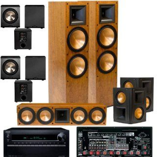 Klipsch RF 7II BLACK Theater System, Onkyo TX NR929 9.2 Ch 2 PL 200 FREE Electronics