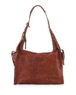 Artisan Leather Hobo Bag, Whiskey   Frye