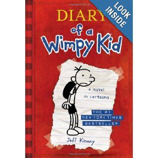 Diary of a Wimpy Kid, Book 1 Jeff Kinney 9780810993136 Books