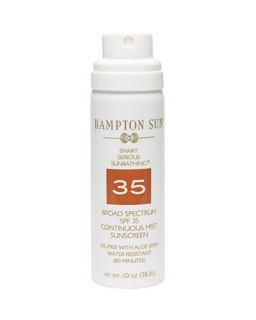 Continuous Mist Broad Spectrum SPF 35 Sunscreen, 1.0oz   Hampton Sun