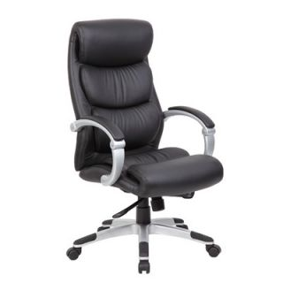 boss office products high back italian leather executive chair b8901