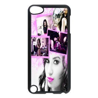 Actress&Pop Singer Demi Lovato Print Black Case With Hard Shell Cover for iPod Touch 5th DIY 1: Cell Phones & Accessories