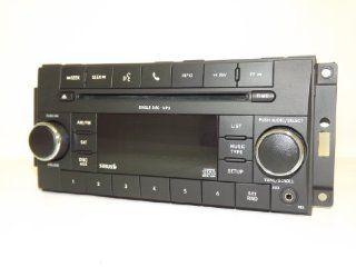 Chrysler Dodge Jeep 2007 2008 2009 2010 Radio mp3 CD iPod Aux Sirius Satellite P05091228AC: Automotive