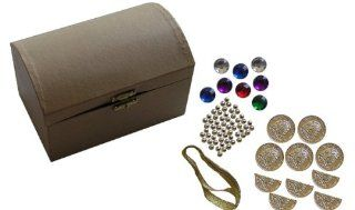 Treasure Chest Craft Kit Package of 12: Toys & Games