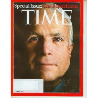 Time Magazine September 8 2008 John McCain Special IssueThe Republicans Books