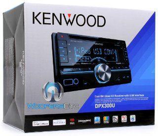 KENWOOD DPX300U 2 DIN CD  WMA USB IPOD AUX IPHONE STEREO EQUALIZER PANDORA