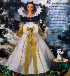 Disney's Snow White Holiday Princess Barbie Toys & Games