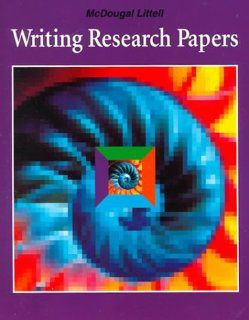 Writing Research Papers: Your Complete Guide to the Process of Writing a Research Paper, from Finding a Topic to Preparing the Final Manuscript (9780812381009): Robert D Shepherd: Books