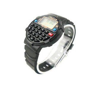 Multi use Calculator Digital Sport Watch (Model Sb010005) (Black) Watches