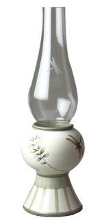 Pfaltzgraff Naturewood Hurricane Lamp: Hurricane Candle Holders: Kitchen & Dining