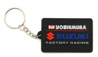 Suzuki Yoshimura Factory Racing Rubber Keychain 990A0 19039: Automotive