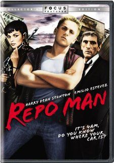 Repo Man (Collector's Edition): Emilio Estevez, Harry Dean Stanton, Olivia Barash, Tracey Walter, Vonetta McGee, Alex Cox, Jonathan Wacks, Peter McCarthy: Movies & TV