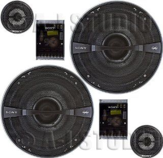 Sony XS GTR1720S 17cm GTR Series 2 Way Component Speakers  Component Vehicle Speaker Systems