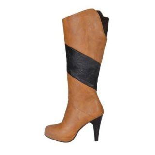 Charm Foot Fashion Womens Platform High Heel Knee High Boots Long Boots: Shoes