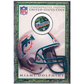 Miami Dolphins Commemorative Edition JFK Half Dollar Coin
