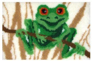 MCG Textiles 37761 Frog Latch Hook Rug Kit