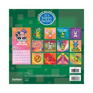 IT'S HAPPY BUNNY 2010 Wall Calendar Trends 9781600698972 Books